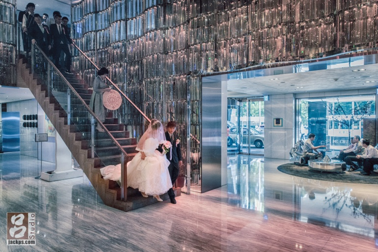 翰品酒店一樓大廳,捕捉美麗的片刻