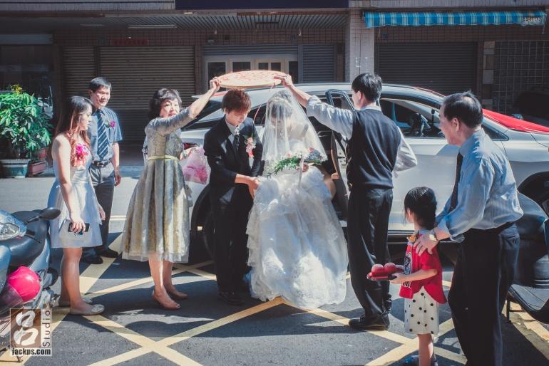 新娘準備進新家