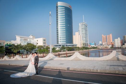 陸橋上拍攝