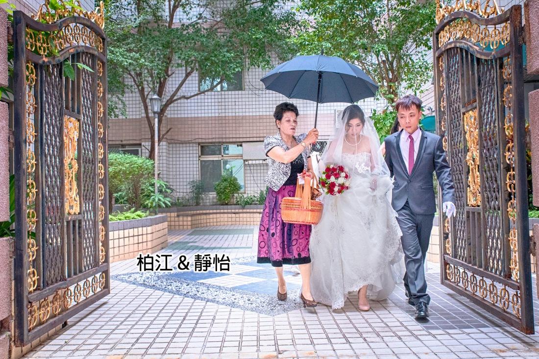 [迎娶+晚宴] 柏江+靜怡 婚禮紀錄照片@台南流水席