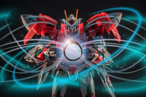 wedding ring and Gundam