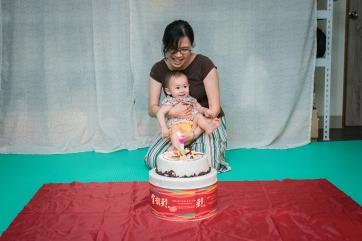 一歲生日派對-親子寫真-抓周記錄migo15