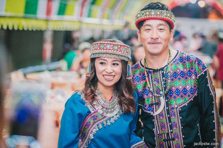 原住民婚禮衣服