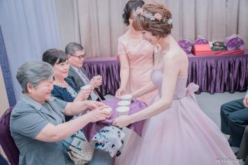 新娘文定奉茶
