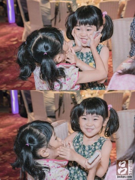 婚禮有趣畫面小女孩