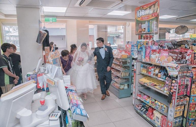 婚禮迎娶-全家就是我家