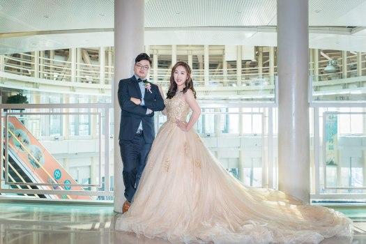 婚禮迎娶午宴雅悅會館-新郎新娘類婚紗