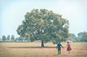 婚紗外拍大樹