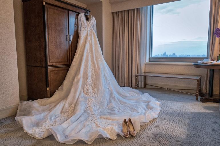 白紗與婚鞋