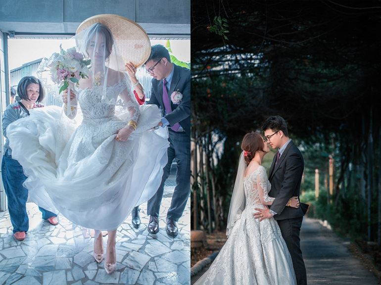 新娘過火爐,新娘外拍