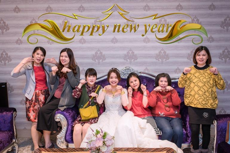 新娘的new year
