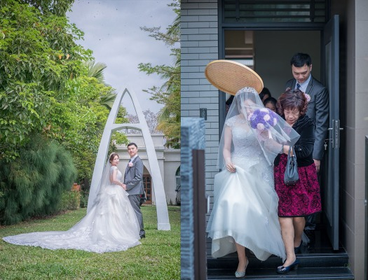 新娘白紗外拍