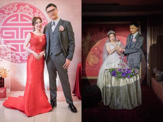 新郎與新娘合照