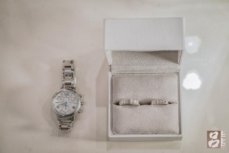 新娘手錶、訂婚和結婚戒
