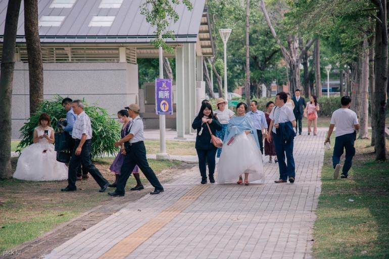 參加集團婚禮新人