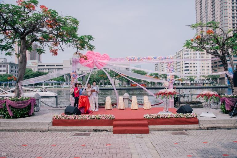 集團婚禮主舞台