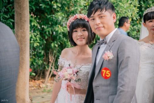 花圈新娘造型