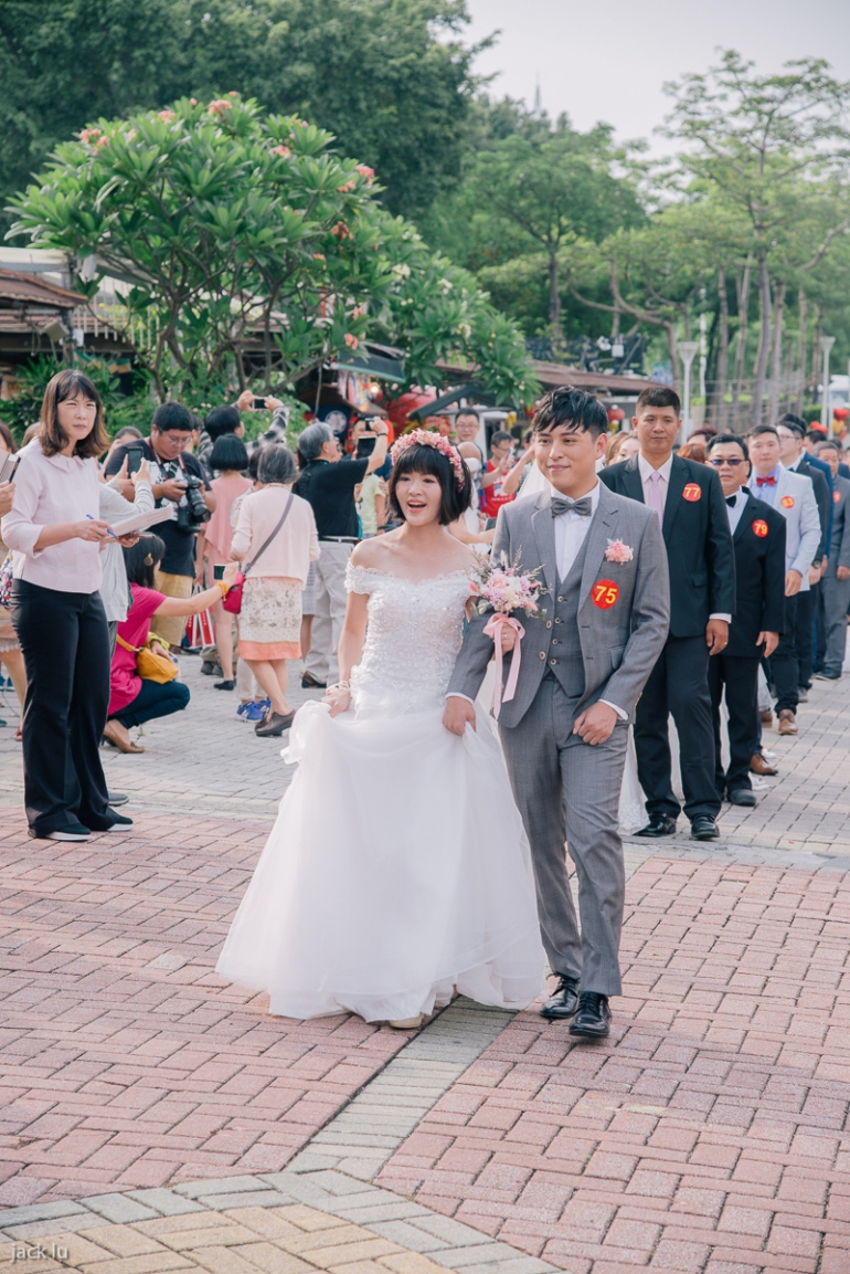 開心的新娘