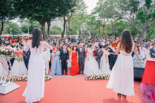 婚禮典禮開始