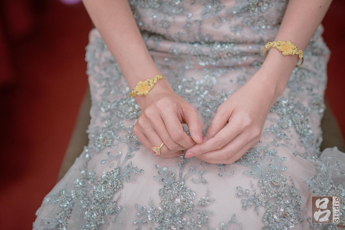 手鐲、金婚戒