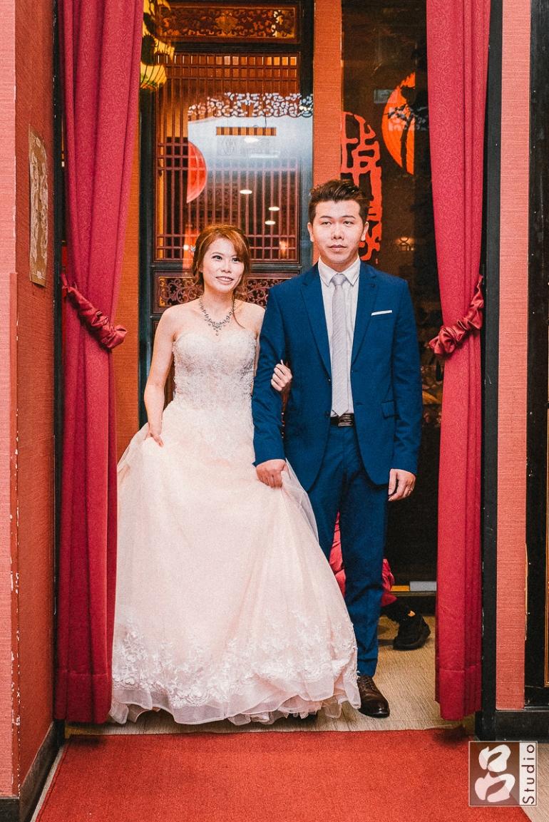 一進新郎新娘