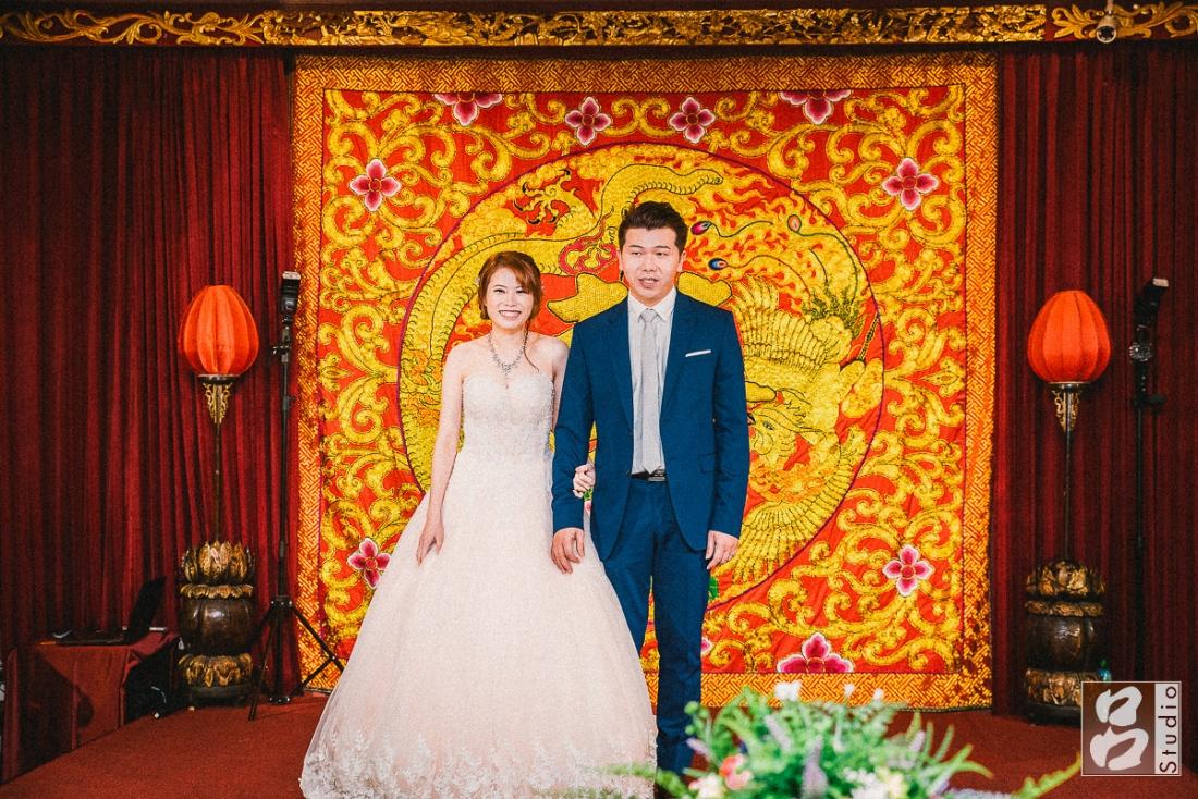 新郎新娘致詞