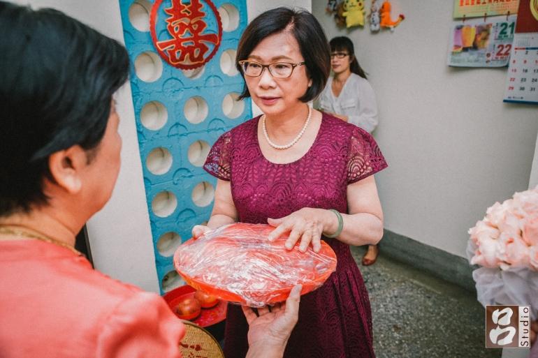 台南專有習俗紅色的發桂