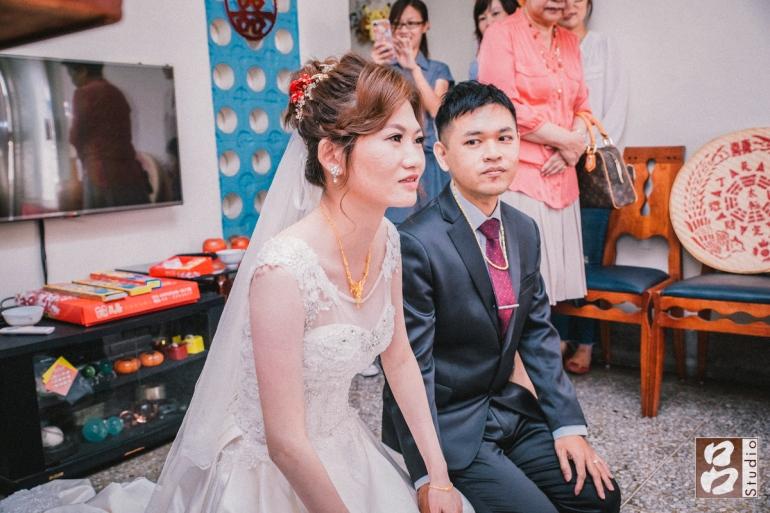 新娘表示感謝之意