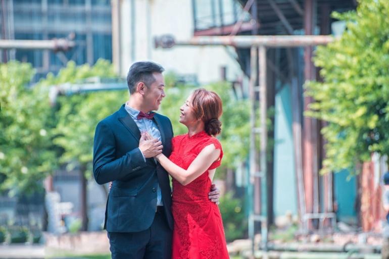 十鼓園區婚紗照