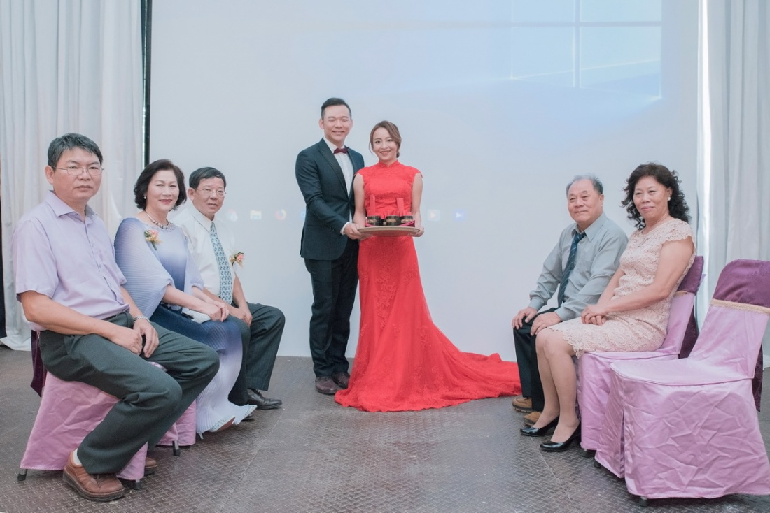 訂婚奉茶儀式