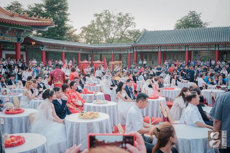 孔廟聯合婚禮 50對新人