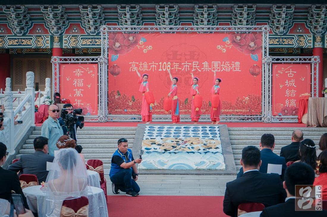 孔廟台上的表演