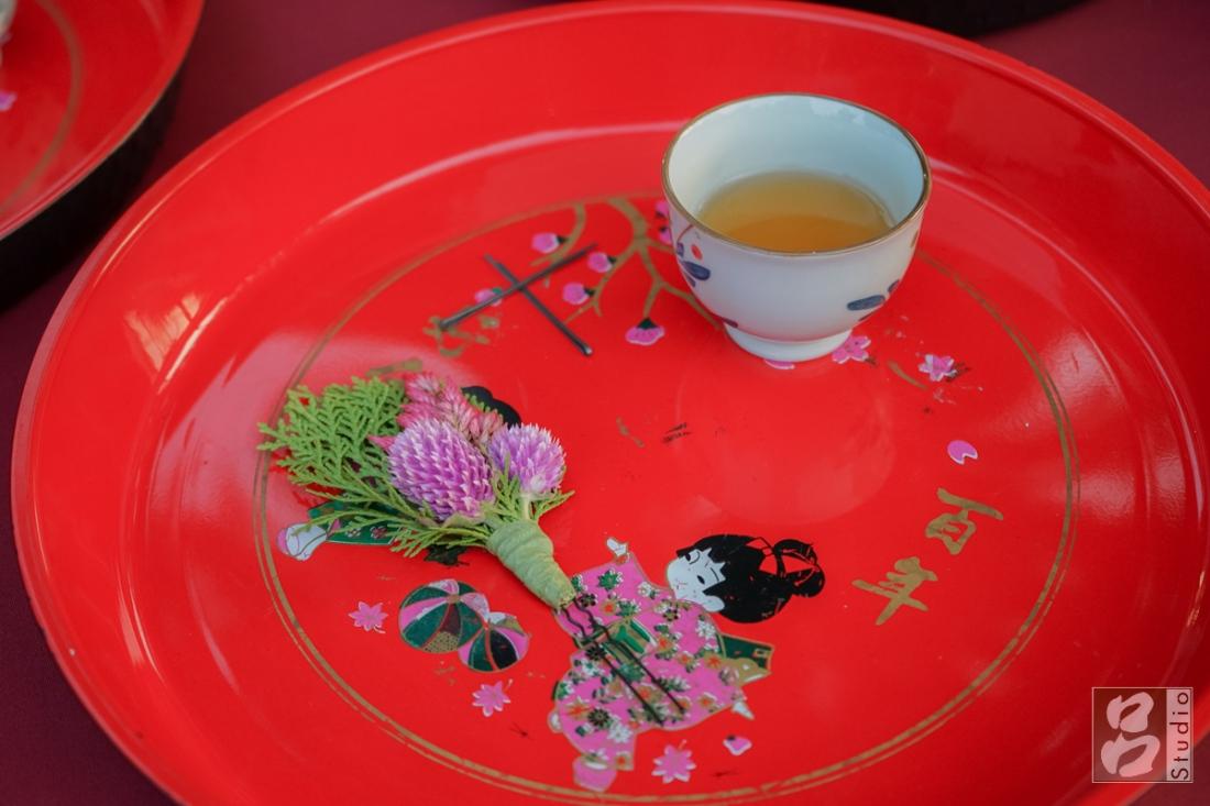 插頭花和食新娘茶