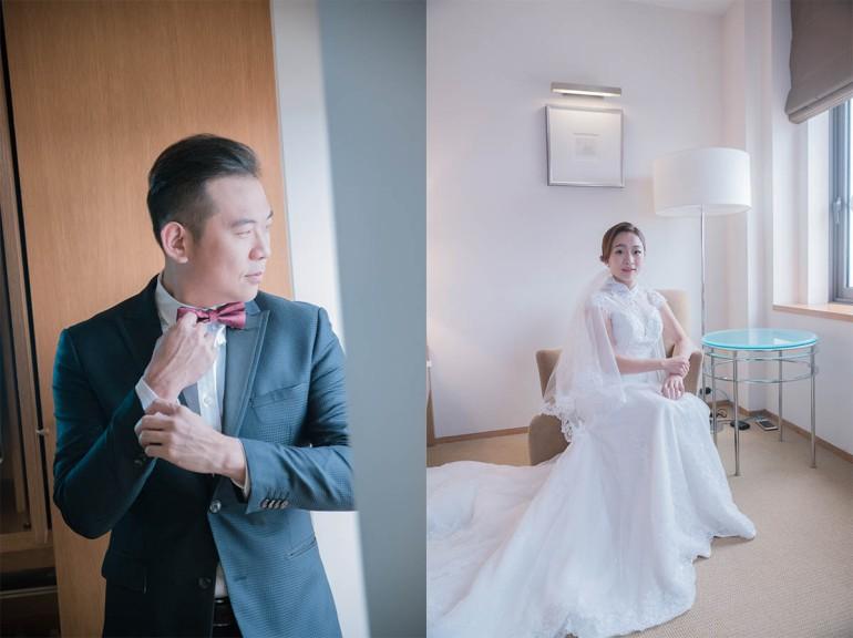 新郎新娘結婚獨照