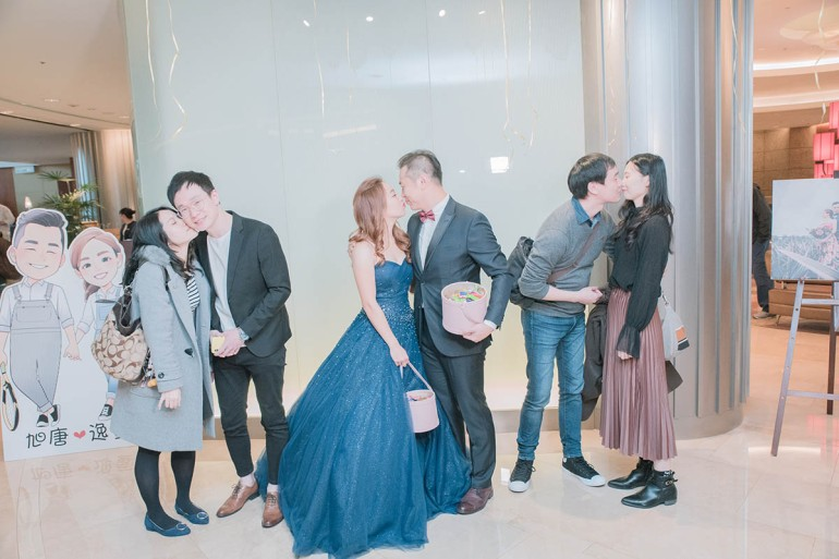 kiss 婚禮合照