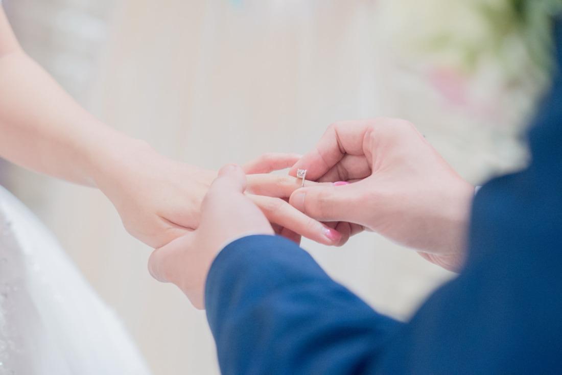 新娘交換戒子