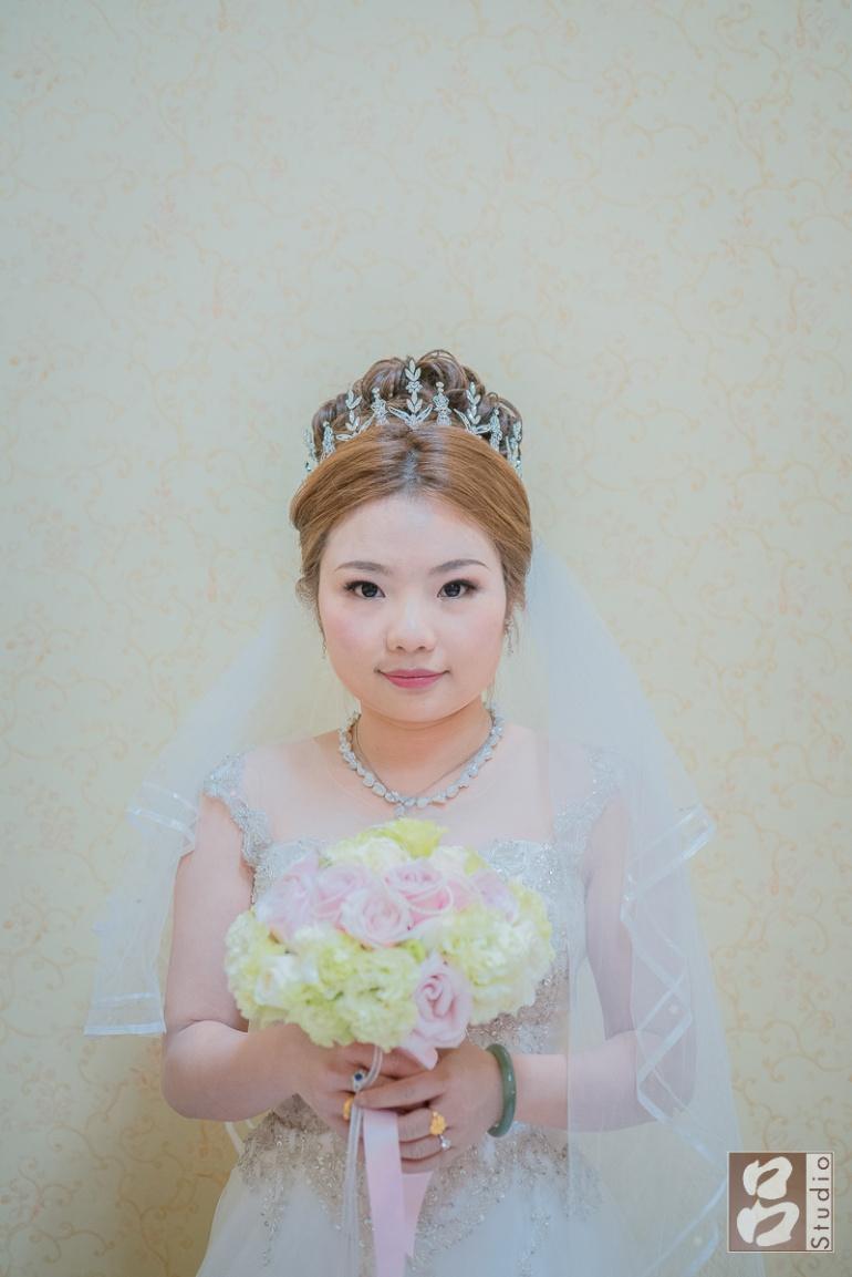 新娘半身照