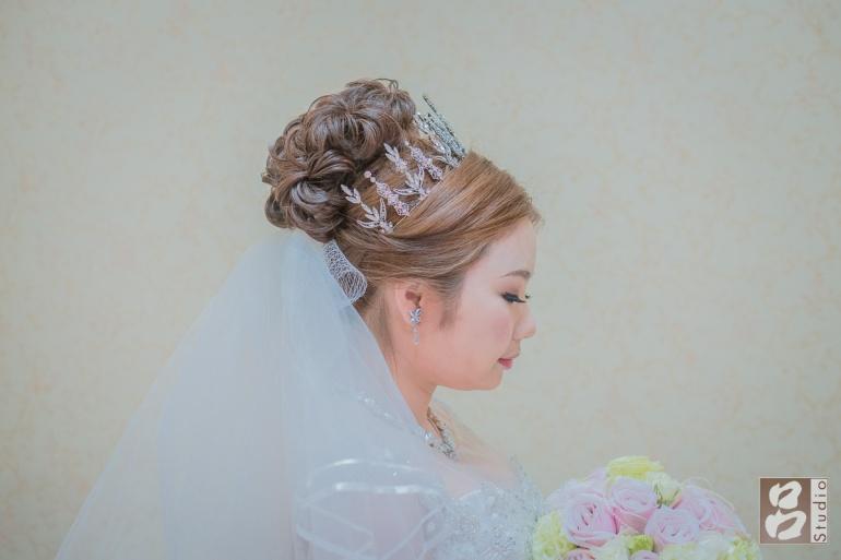 新娘髮型小皇冠