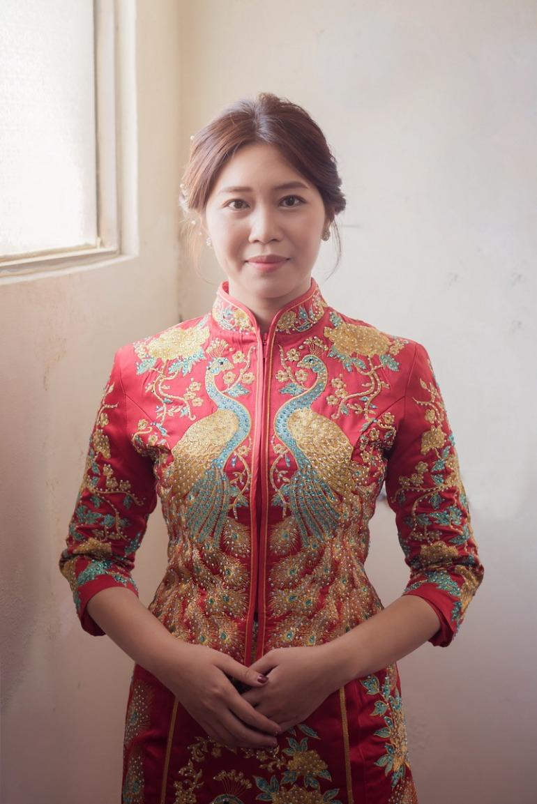 新娘龍鳳褂