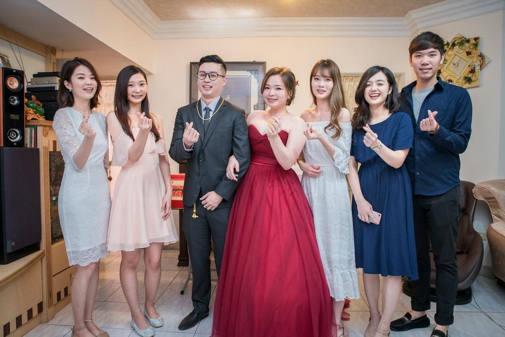新娘的好友團合照